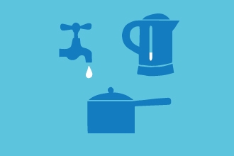 saving water illustration