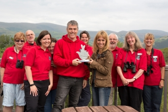 Dyfi Osprey named best environment project in the UK
