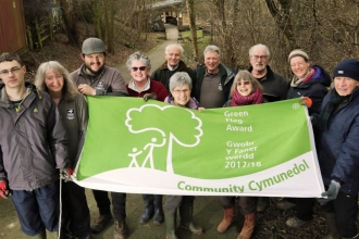 Friends of Severn Farm Pond with Green Flag