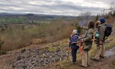 Volunteers at Llanymynech Rocks copyright MWT