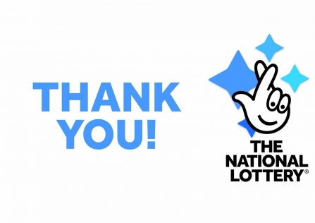The National Lottery Thank You! logo
